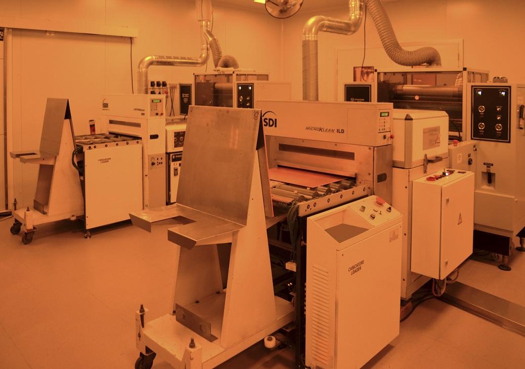 second laminator Model Shipley Dynachem 1600G  - Cipsa Circuits
